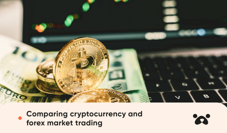 Comparing cryptocurrency and forex market trading