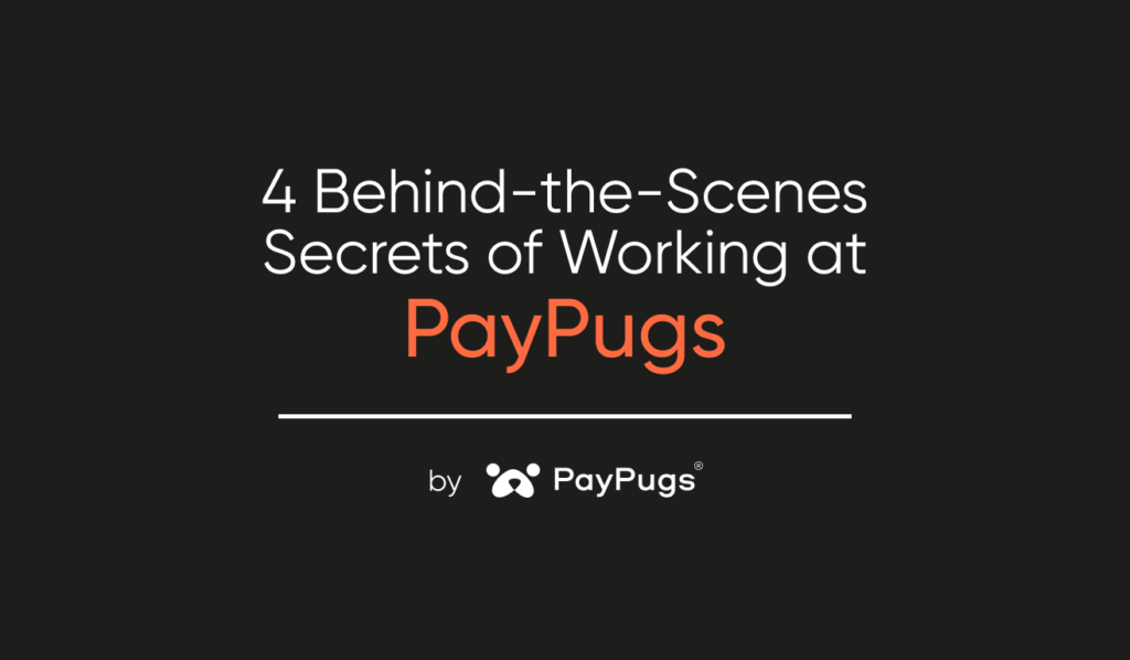 4 behind the scenes of working at PayPugs